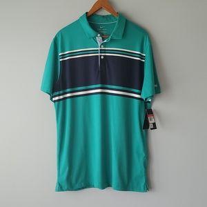 Nike Green Short Sleeve Standard Fit Polo Shirt L